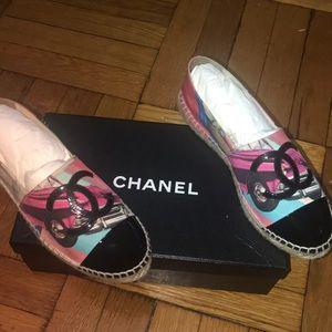 Chanel Espadrilles size 8 (38)
